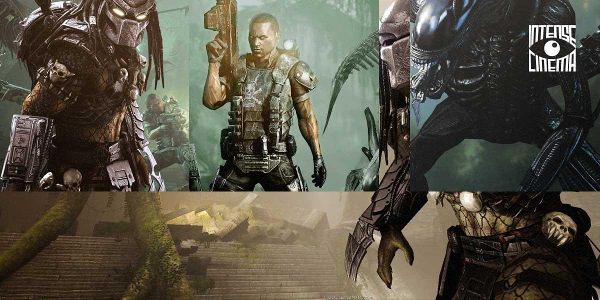 Intense Cinema | Watch 'Aliens vs Predator' feature length video game film on @IntenseCinema