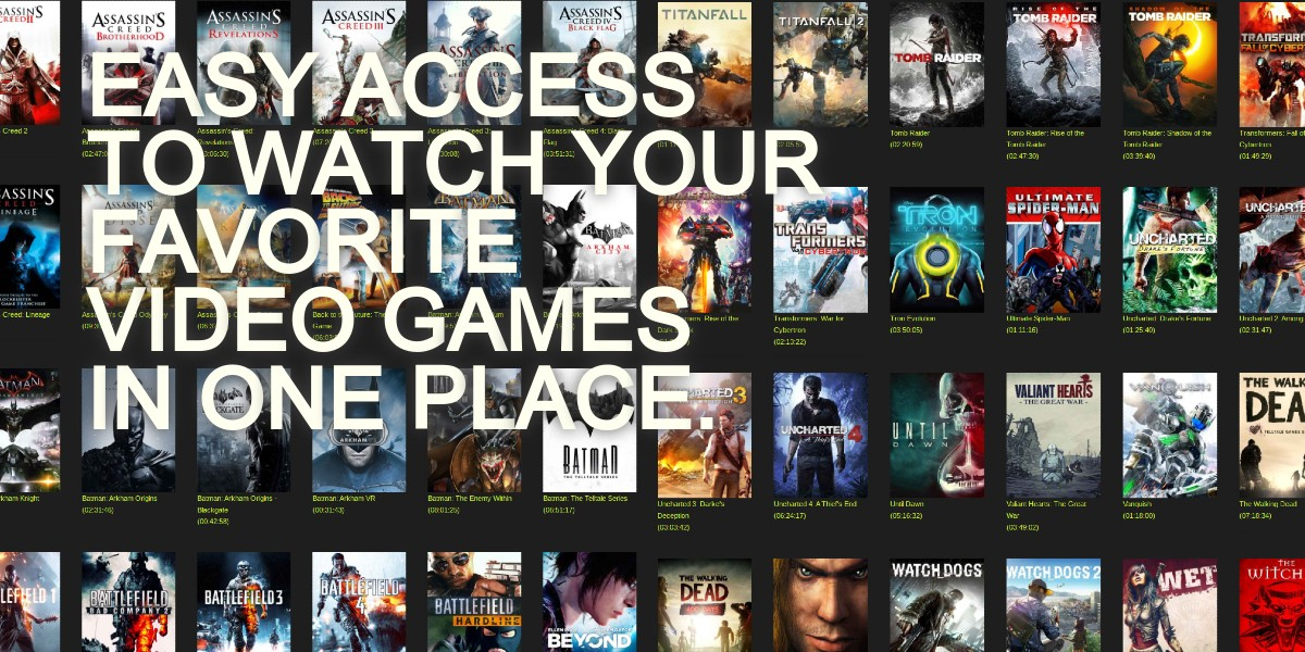 Watch Video Game Film on Intense Cinema. Intense Cinema is the #1 film site for gamers. Watch feature length video game film free online or stream to your portable devices.